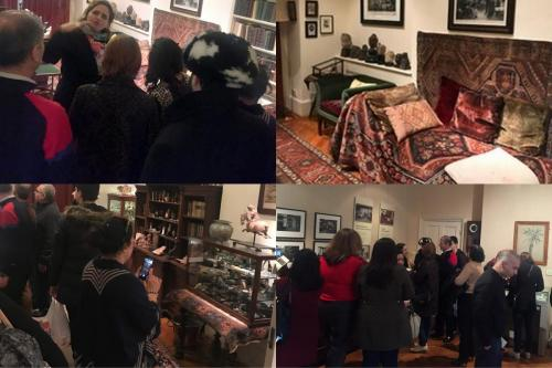 Tour of Freud Museum-collage pictures